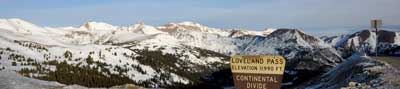 Loveland Pass : High Road in Colorado